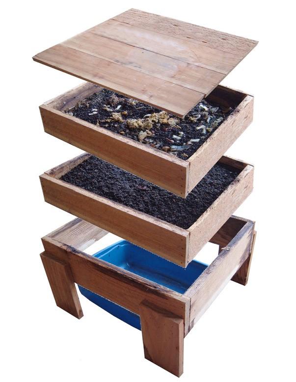 Ящик для изготовления биогумуса
