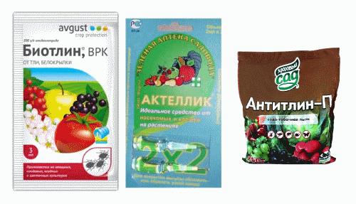 Антитлин, Биотлин, Актеллик